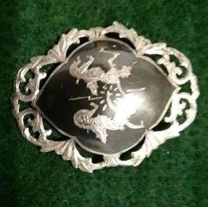 Brooch made in Siam ,marked Sterling